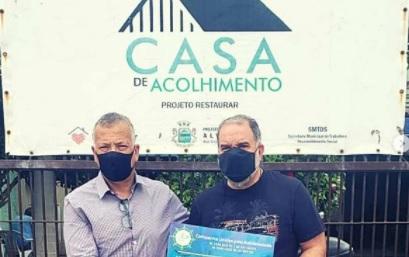 """""""Unidos pela solidariedade"""": CVG RS realiza entrega de doações a entidades gaúchas"""