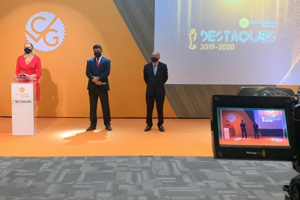 O presidente do CVG-RJ, Octávio Perissé e o vice-presidente Enio Miraglia, apresentaram o evento / Divulgação