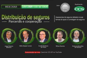 CCS-SP estreia projeto Prata da Casa com live sobre distribuição de seguros