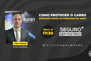CEO da Ituran Brasil participa ao vivo do Seguro Sem Mistério na próxima terça
