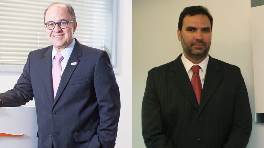 Gabriel Portella, atual Presidente da SulAmérica, e Ricardo Bottas, atual Vice Presidente de Controle e Relações com Investidores e indicado para a Presidência da Companhia / Reprodução