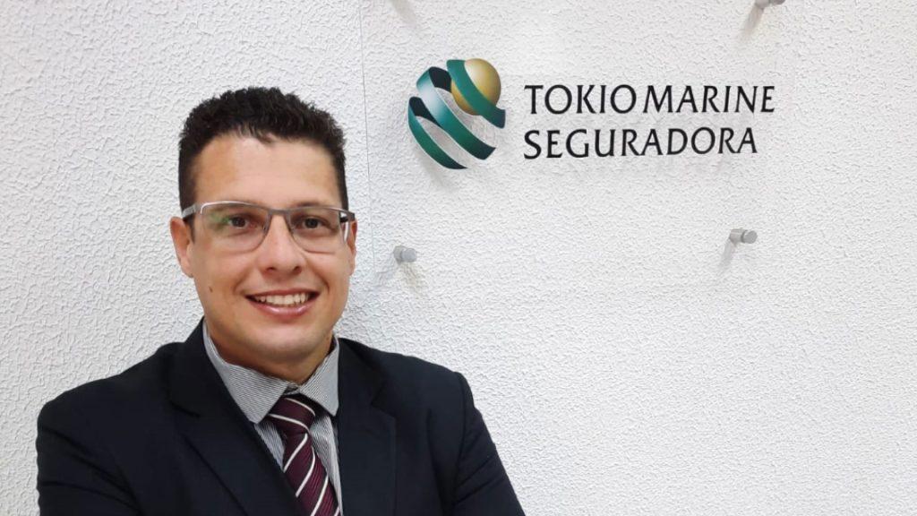 Fabiano Polli é o novo Gerente Comercial de Vida da Tokio Marine no Paraná / Divulgação