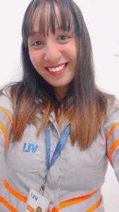 Roberta Bezerra Jacintho é controladora multimodal do Tiplam na Baixada Santista / Divulgação