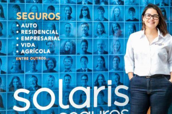 Cátia Zuliani representa a Solaris Corretora em Bagé (RS) / Foto: Tiago Rolim de Moura / Reprodução