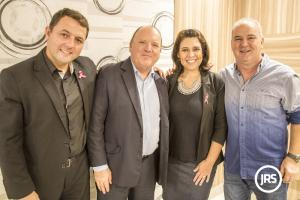 Fernando Menezes destaca trajetória de sucesso em encontro